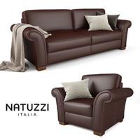 natuzzi inga sofa armchair max