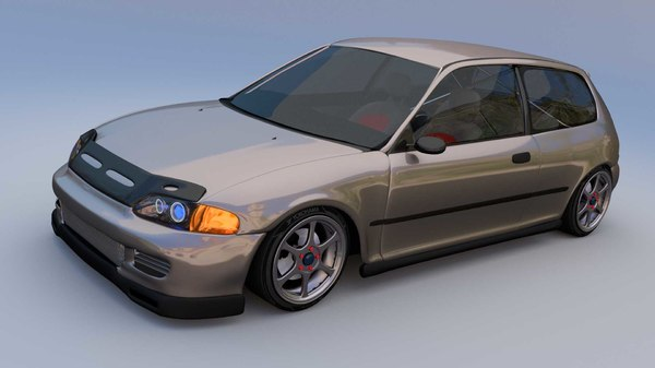 3ds honda civic