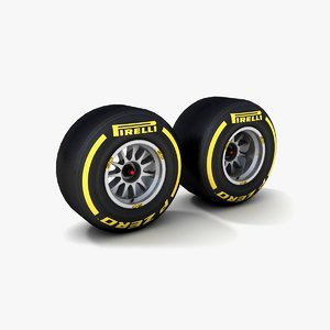3d formula 1 pirelli p