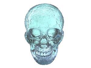 crystal skull scan hd max
