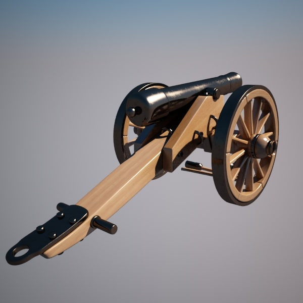3d cannon