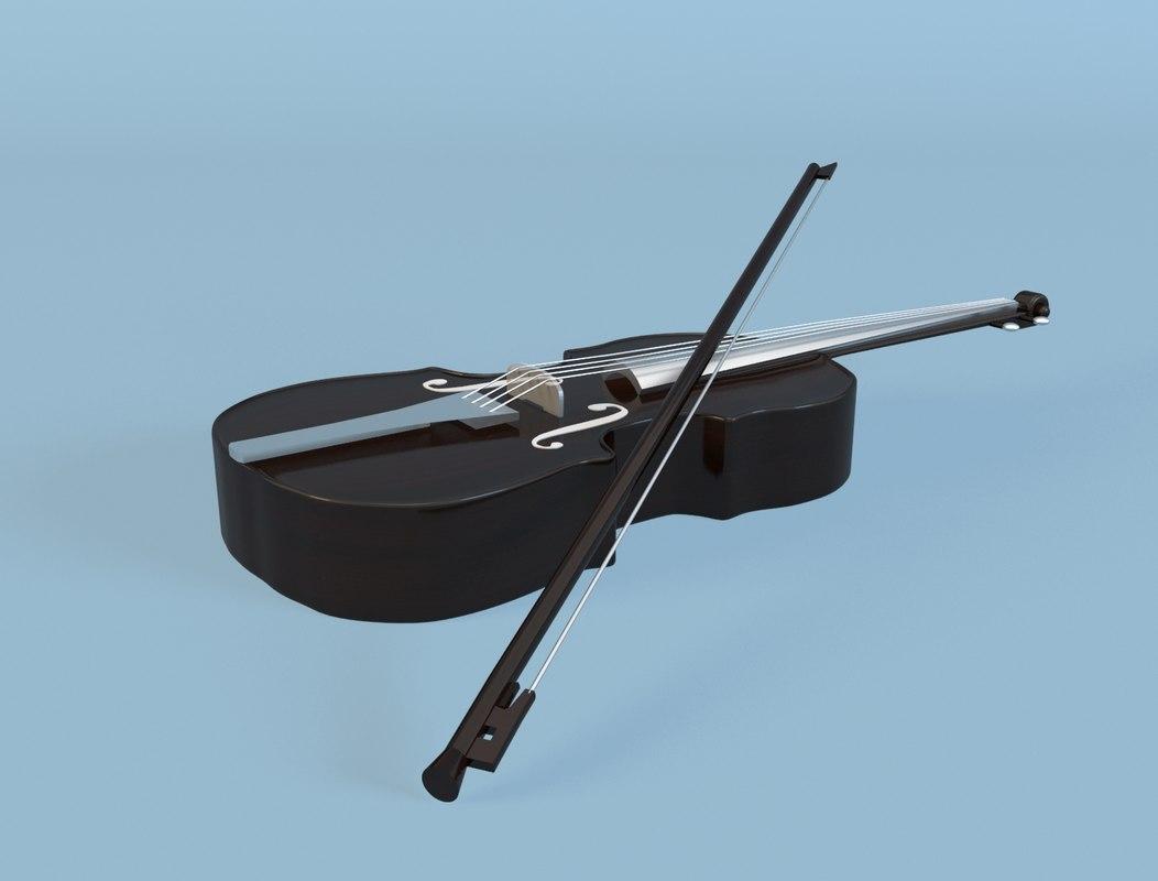 3ds max violin