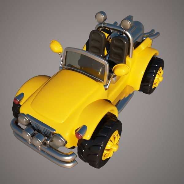 jeep toy 3d model
