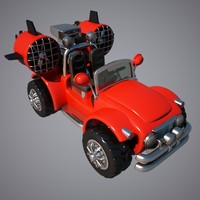 3d jeep turbo