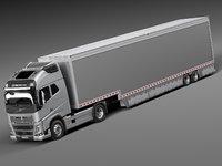 Volvo FH16 Globtrotter Trailer 2015