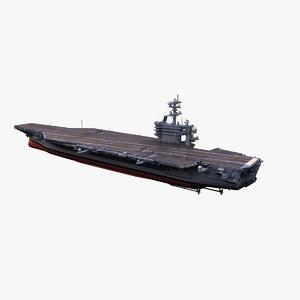 3d uss theodore roosevelt aircraft carrier
