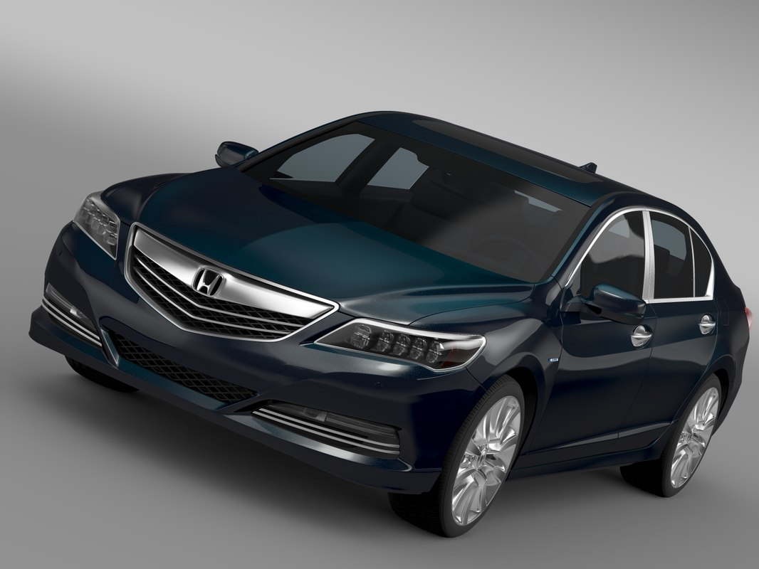 3d honda legend hybrid 2015 model