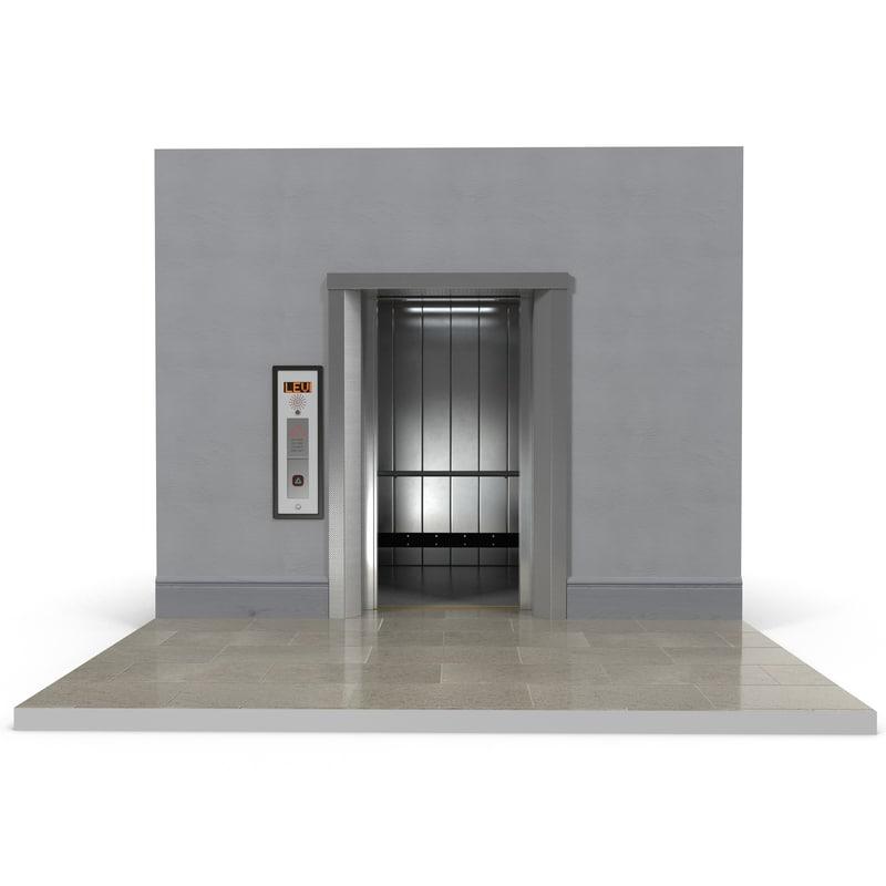 3d model lift interior design build