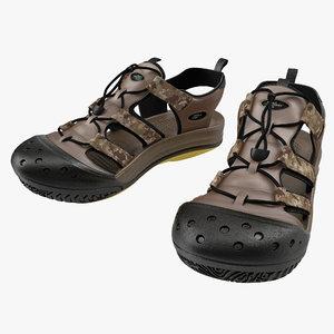 3d model sneakers 7 modeled