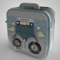 tape recorder c4d