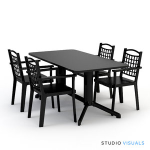 3d seating sv marbella model