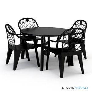 seating sv marbella 3d model