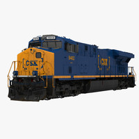 Locomotive ES40DC CSX Blue