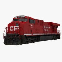 Locomotive ES40DC Canadian Pacific