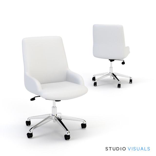 3d task chair model
