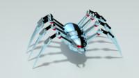 spider bot 3d model