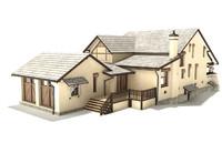 3d model of huge house