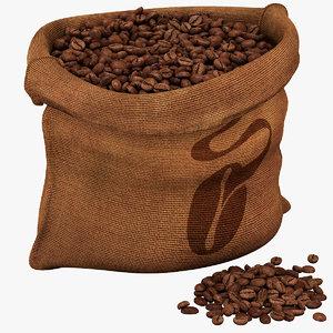 sack beans dxf