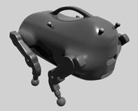 3d model darpa robot ugv