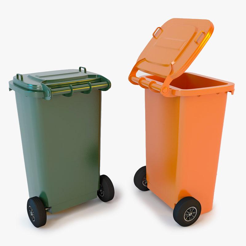 3d wheelie bin