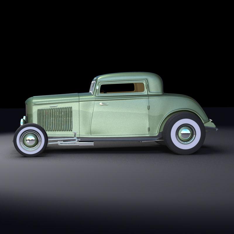 maya 1932 deuce coupe