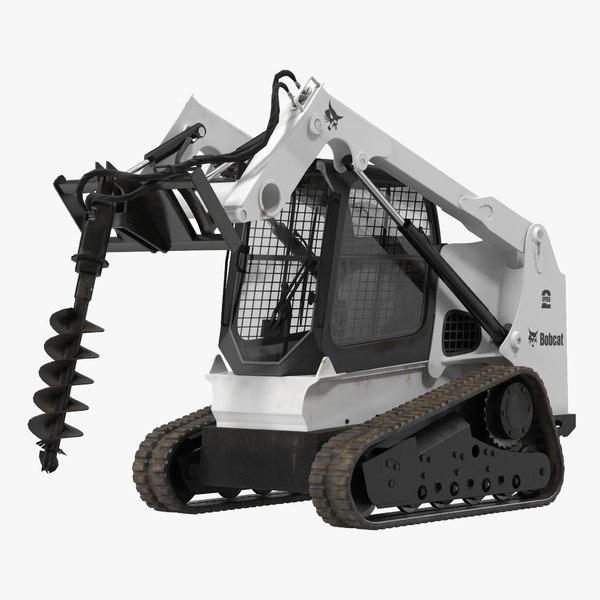 3d max compact tracked loader bobcat