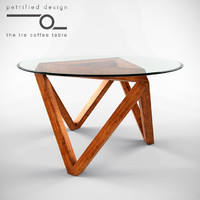 tre coffee table 3d model