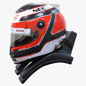 racing helmet nico 2015 3d 3ds