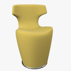 3d papilio armchair model