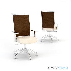 3d sona task chair model