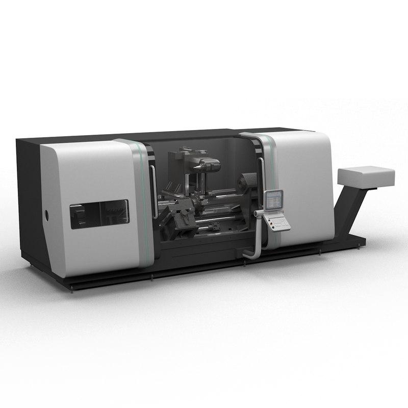 3d model lathe ctx gamma 2000