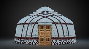 3d yurta folding house