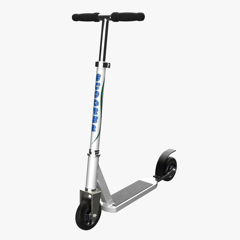 3d kick scooter