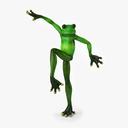 Frog Statue 3D models