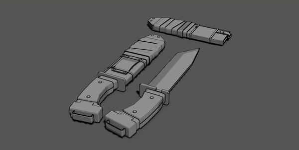stylized knife max free