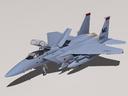 F-15E Strike Eagle + cockpit.