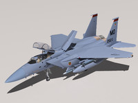 3d f-15e strike eagle f-15
