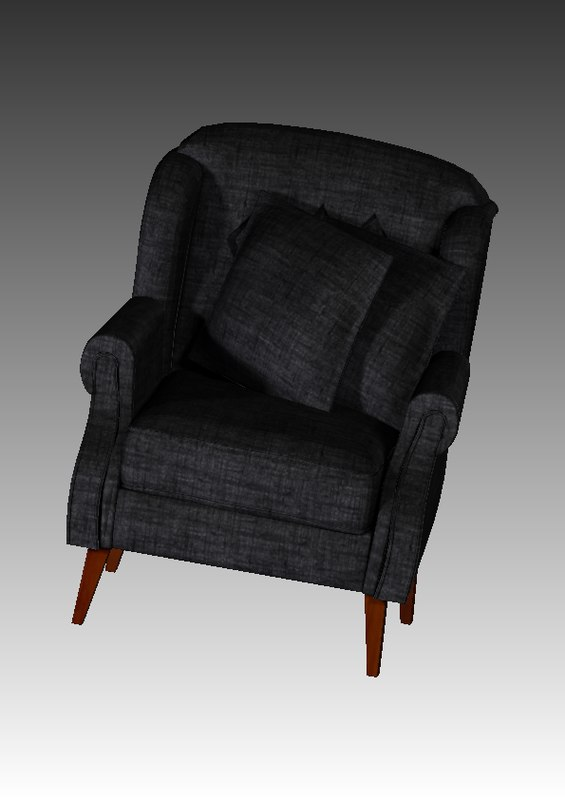 furniture armchair 3d c4d