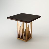 3d model christopher guy table vegas