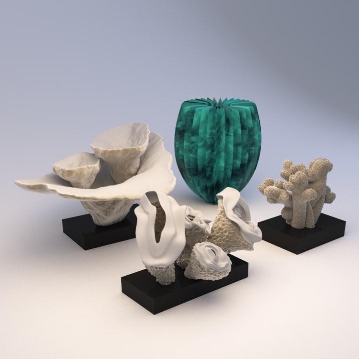 max coral sculpture