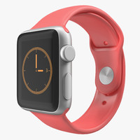 3ds apple watch 38mm fluoroelastomer