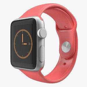 3ds apple watch 38mm fluoroelastomer