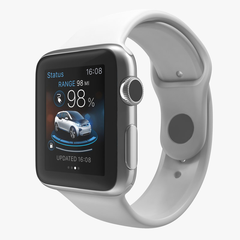apple watch fluoroelastomer 3d model