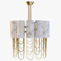3ds max niagara suspension lamp