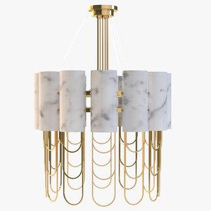 3ds max niagara suspension lamp