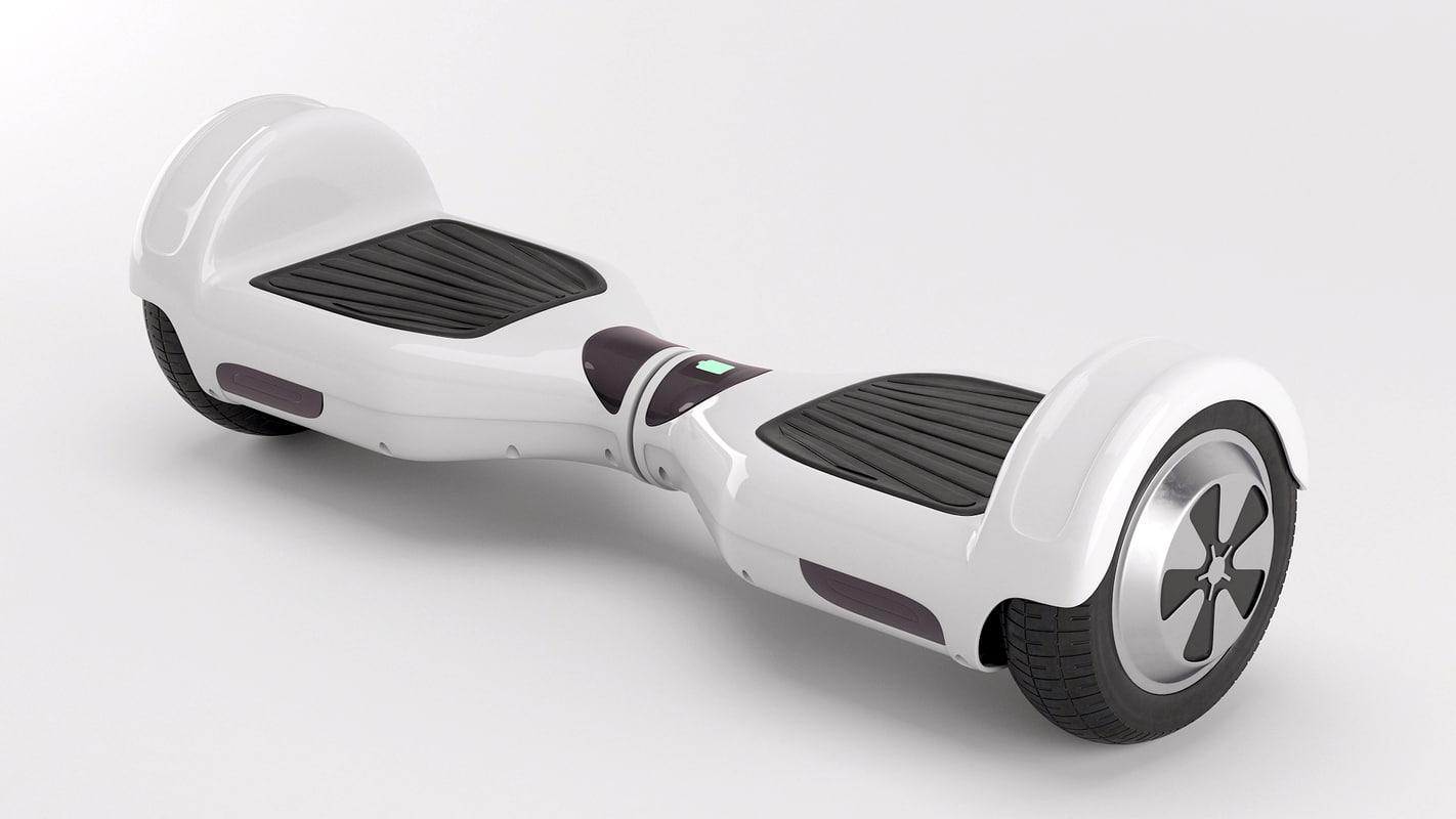 topwheel scooter 3d model