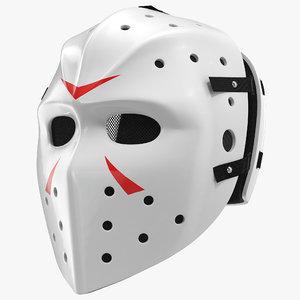 3dsmax hockey mask 2