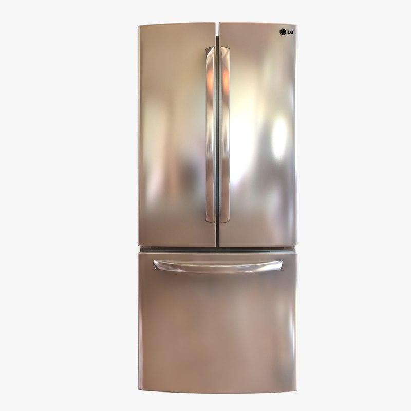 3ds max refrigerator lg 29