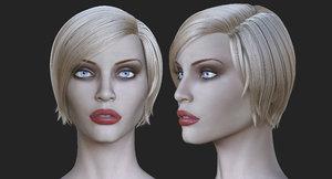 realistic supermodel body nadja 3d max