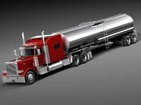 Peterbilt 389 Sleeper Cab Tanker 2015